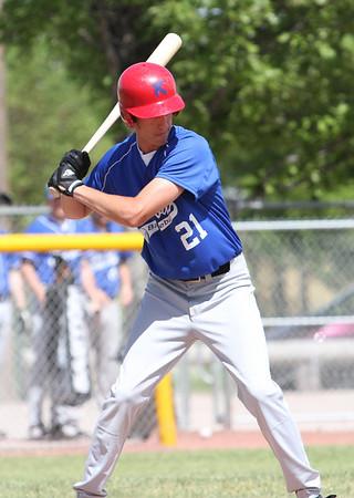 Valley bank and Kimball baseball