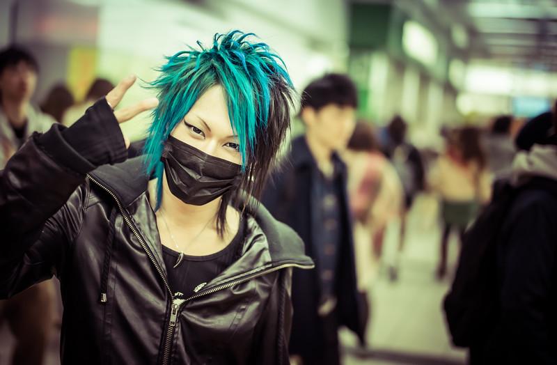 Facemasks of Tokyo I
