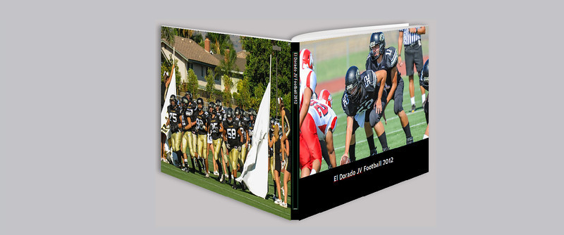 El Dorado JV Football 2012 Team Book