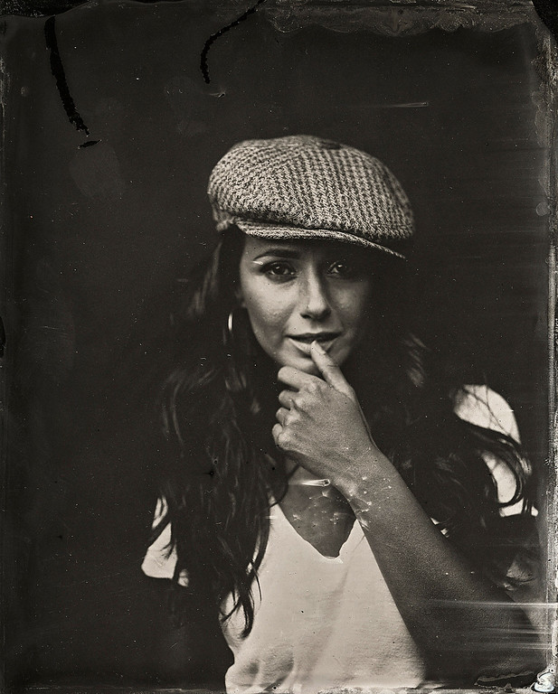 . Emmanuelle Chriqui  poses for a tintype (wet collodion) portrait at The Collective and Gibson Lounge Powered by CEG, during the 2014 Sundance Film Festival in Park City, Utah. (Photo by Victoria Will/Invision/AP)