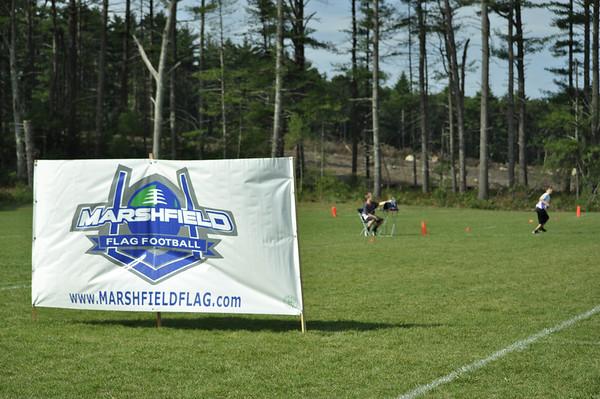 9.8.13 Marshfield Flag Football Opening Ceremonies 2013