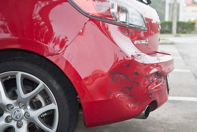 Mazdaspeed3 rear impact