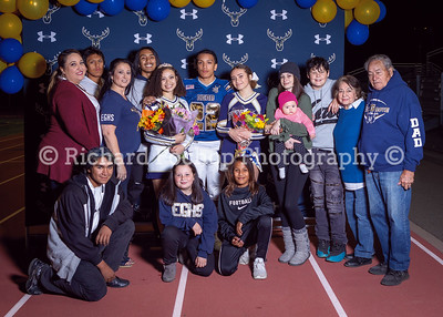 Elk Grove Senior Night 2019