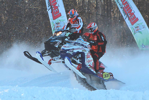 East Coast Snocross at Crete Center (Plattsburgh, NY) 2012