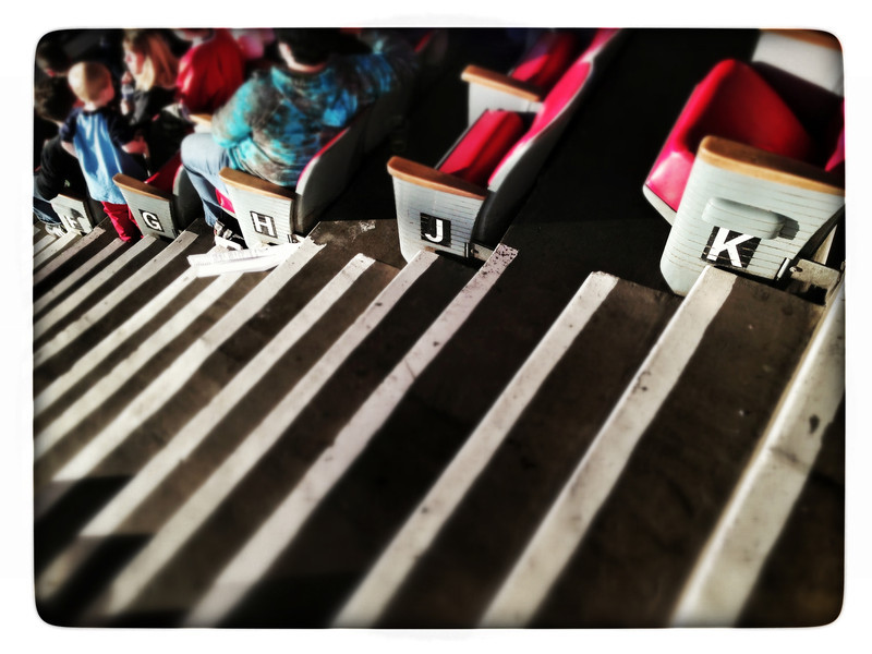steps and letters (iPhoneography)