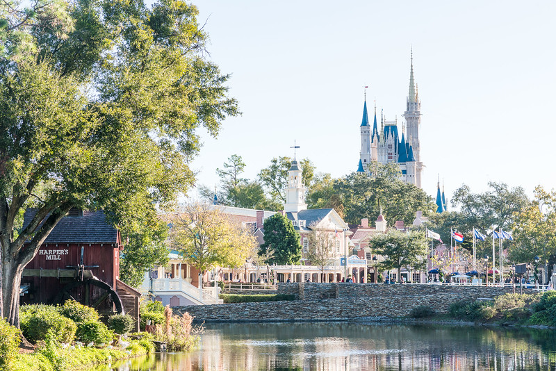 Castle Scenery - Magic Kingdom Walt Disney World
