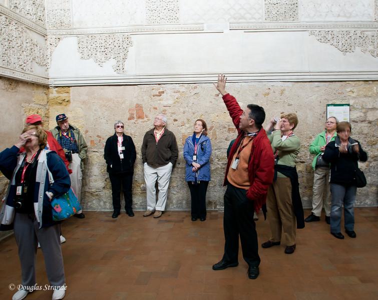 Thur 3/10 in Cordoba: Inside the Cordoba Synagogue