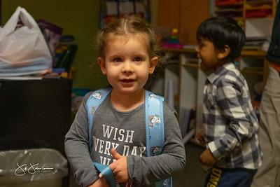 Rhoda's First Day of School 2020