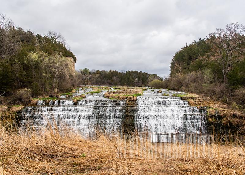 The Galena Territories Waterfall