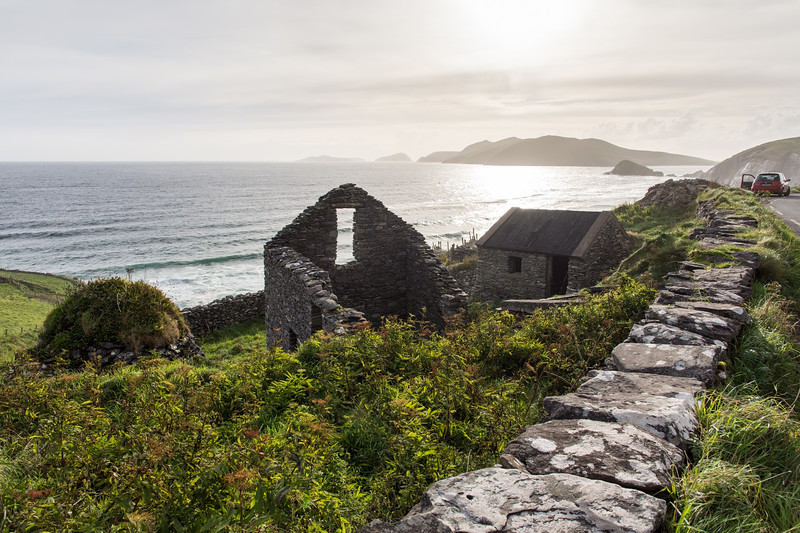 Slea Head ruins