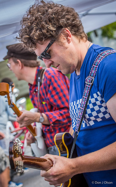 Keith Patterson & Adam Fesenmaier--Mighty Mofo's--Nicolett open streets party 2015