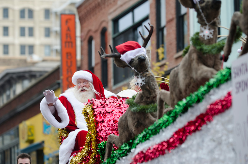 2016 Asheville Holidays Parade