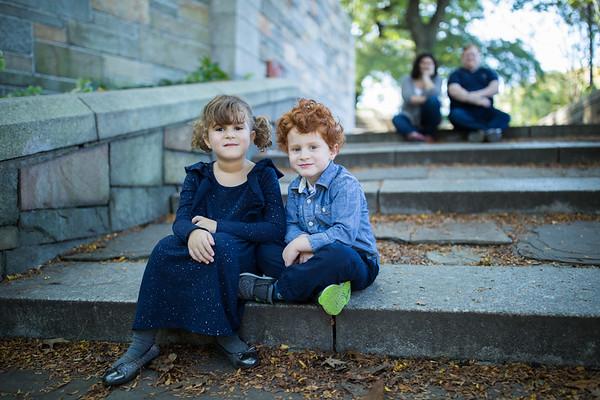 Kohn Family at Riverside Park