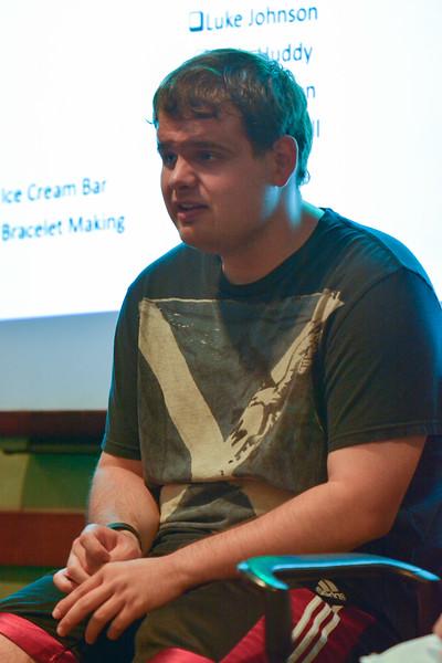 Luke Johnson, speaks on his struggles on the autism spectrum.