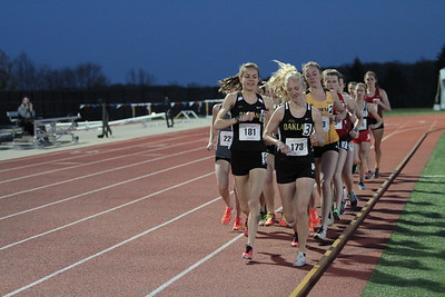 Women's 10000 (Day 1) - 2018 Horizon League T&F Championships