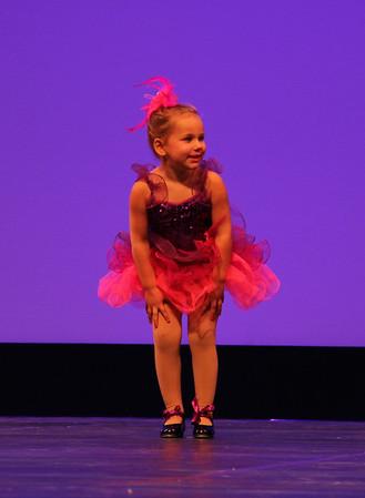 Ava's first dance recital  06/18/2016