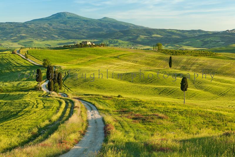Gladiator Road , Pienza , Tuscany