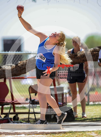 AIA Track & Field 2017 Finals Girl's Shot Put