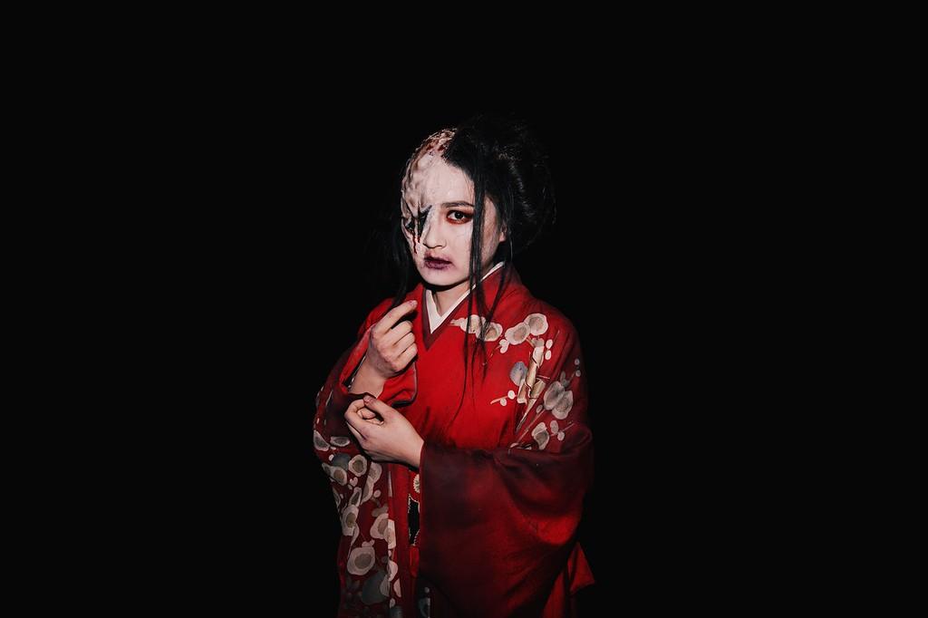Universal Studios Singapore Halloween Horror Nights 8 / Scare Actor Appearances Lady Oiwa