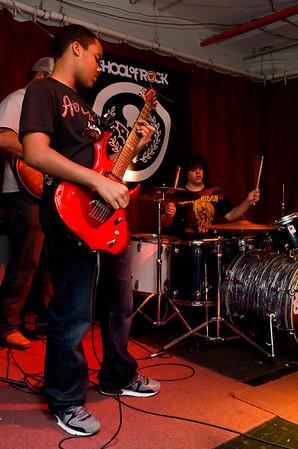School Of Rock - B-Team rehearsal with Owen Schmitt - November 16, 2011