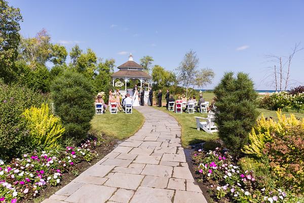 Mackinac Island Mission Point Wedding Emily Mike