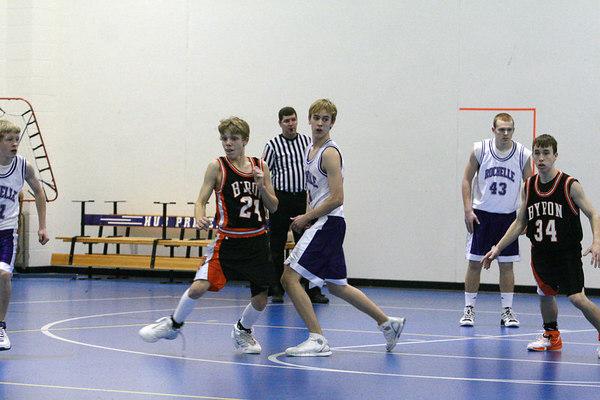 2006-07 HUBS FRESHMAN BASKETBALL vs BYRON