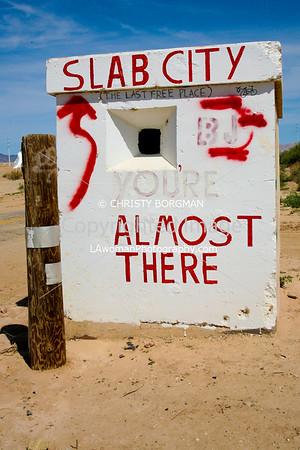 Slab City and Niland
