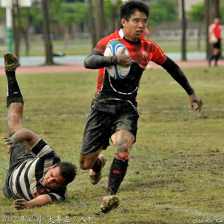 2012大專盃7s-乙組-第二天賽事(Day2)
