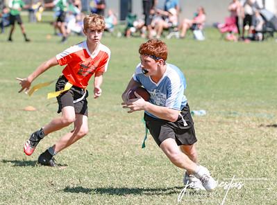 Flag Football at Azalea 10-24-20