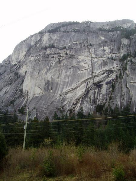 Stawamus Chief Rock near Squamish
