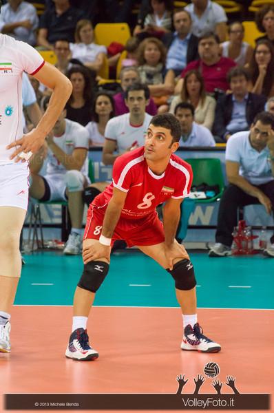 Farhad Zarif [IRI] - Italia-Iran, World League 2013 - Modena
