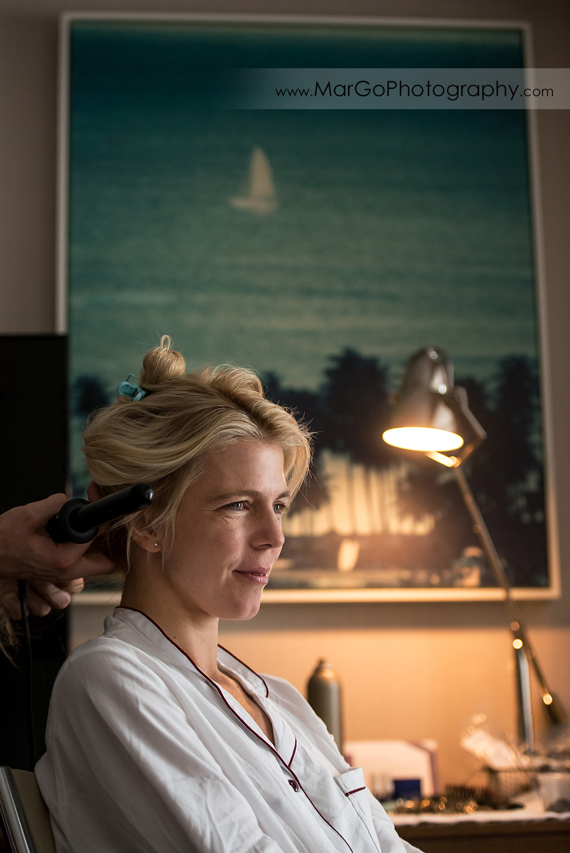 bridal make-up at San Diego Hyatt Regency Mission Bay Hotel
