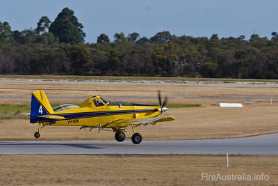 Bomber 604 (VH-DUA) - Dunn Aviation AT802