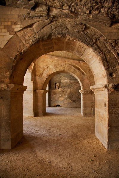 Two Roman Arches from the Arles Arena, France