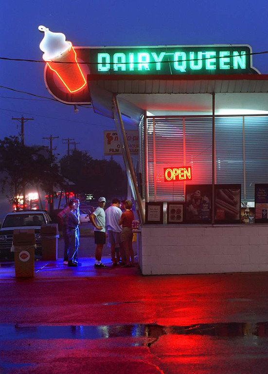 . Must have my annual medium-size Dairy Queen chocolate malt, indulging without guilt in one of the nation�s most non-nutritious, calorie-laden delights. Must also remind self I�m allowed only one a summer. <p>-- By book critic Mary Ann Grossmann <p>-- Photo from Pioneer Press files