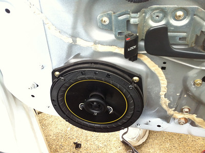 2000 Honda S2000 Front Speaker Installation - USA