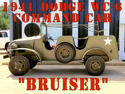 DODGE WC6 COMMAND CAR FOUND.