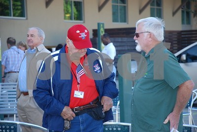 10/27/14 Brookshire's Hosts 9th Annual Honors Flight For WWII Veterans - Departure by Jan Barton