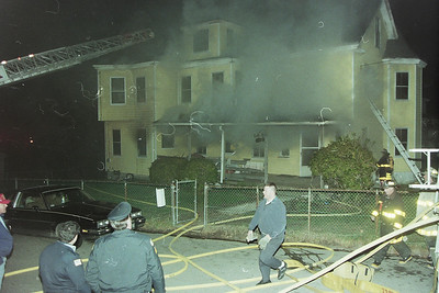 Multi Alarm House Fire Hull Ma. on Atlantic House Road