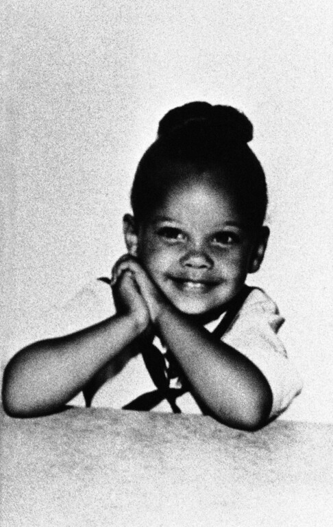 . Singer, actress and former Miss America  Vanessa Williams seen in an undated photo of her as a child. (AP Photo)