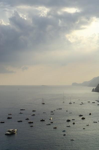 Rain over Positano