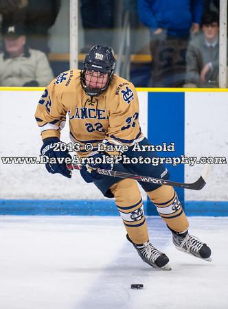 1/8/2013 - Boys Varsity Hockey - Catholic Memorial vs Malden Catholic