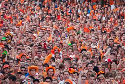 Oranje gekte WK 2010