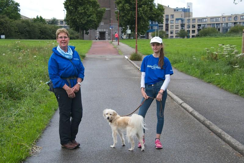 Make a Wish sponsor Walk