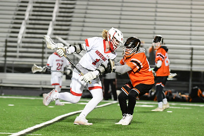 Boys Lacrosse: Heritage vs Brentsville - 3.22.19 - (by Trish Baer)