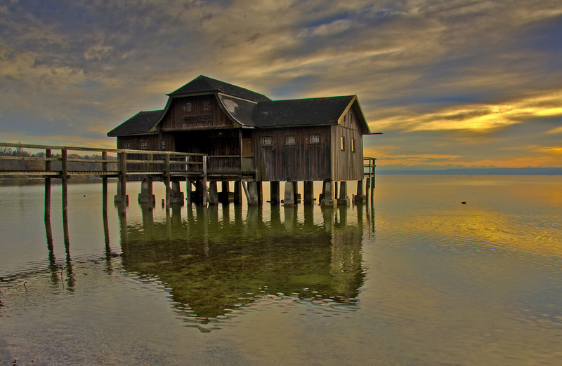 Bootshaus am Ammersee