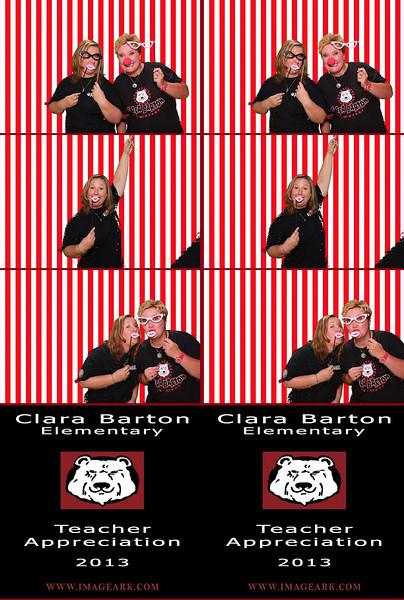 Clara Barton Teacher Appreciation