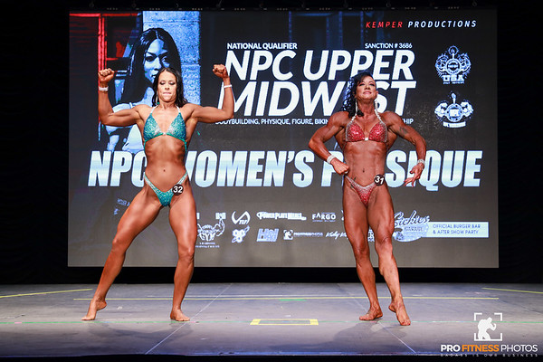 NPC Womens Physique Prejudging