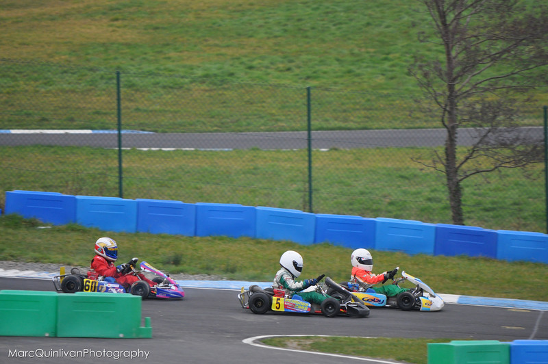 Irish Karting Club Test Day - February 2012 - Alyx Coby