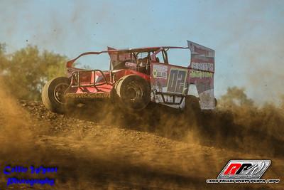 Woodhull Raceway - 7/7/18 - Collin Wyatt